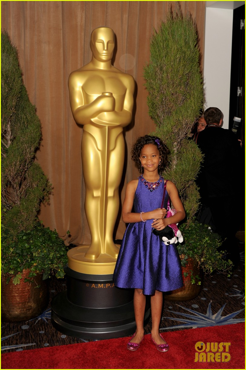quvenzhane wallis oscar nominees luncheon 2013 09