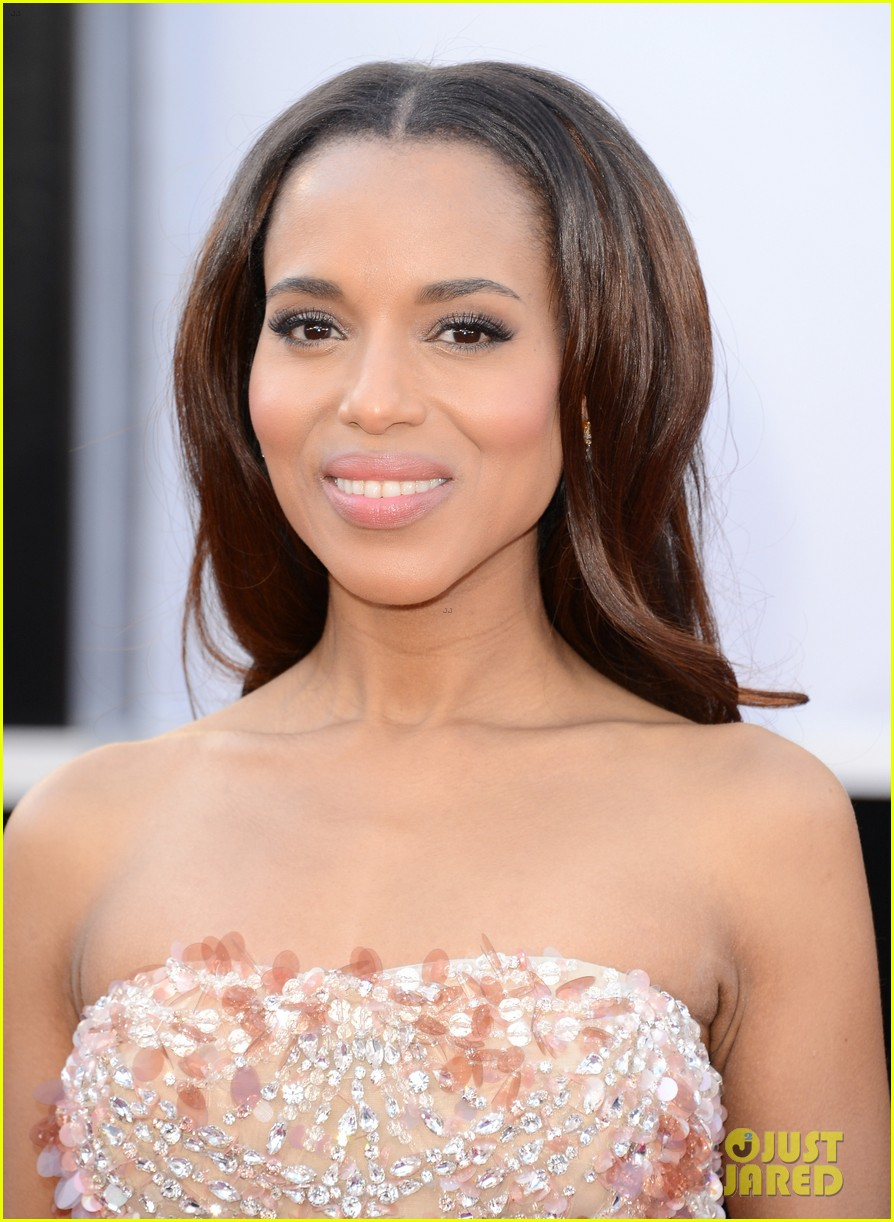kerry washington oscars 2013 red carpet 03