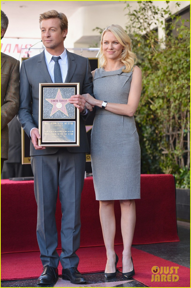 naomi watts simon baker walk of fame ceremony 01