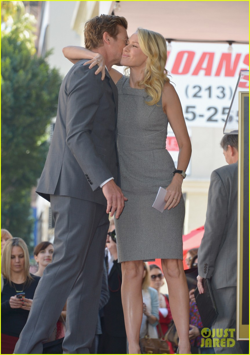 naomi watts simon baker walk of fame ceremony 04