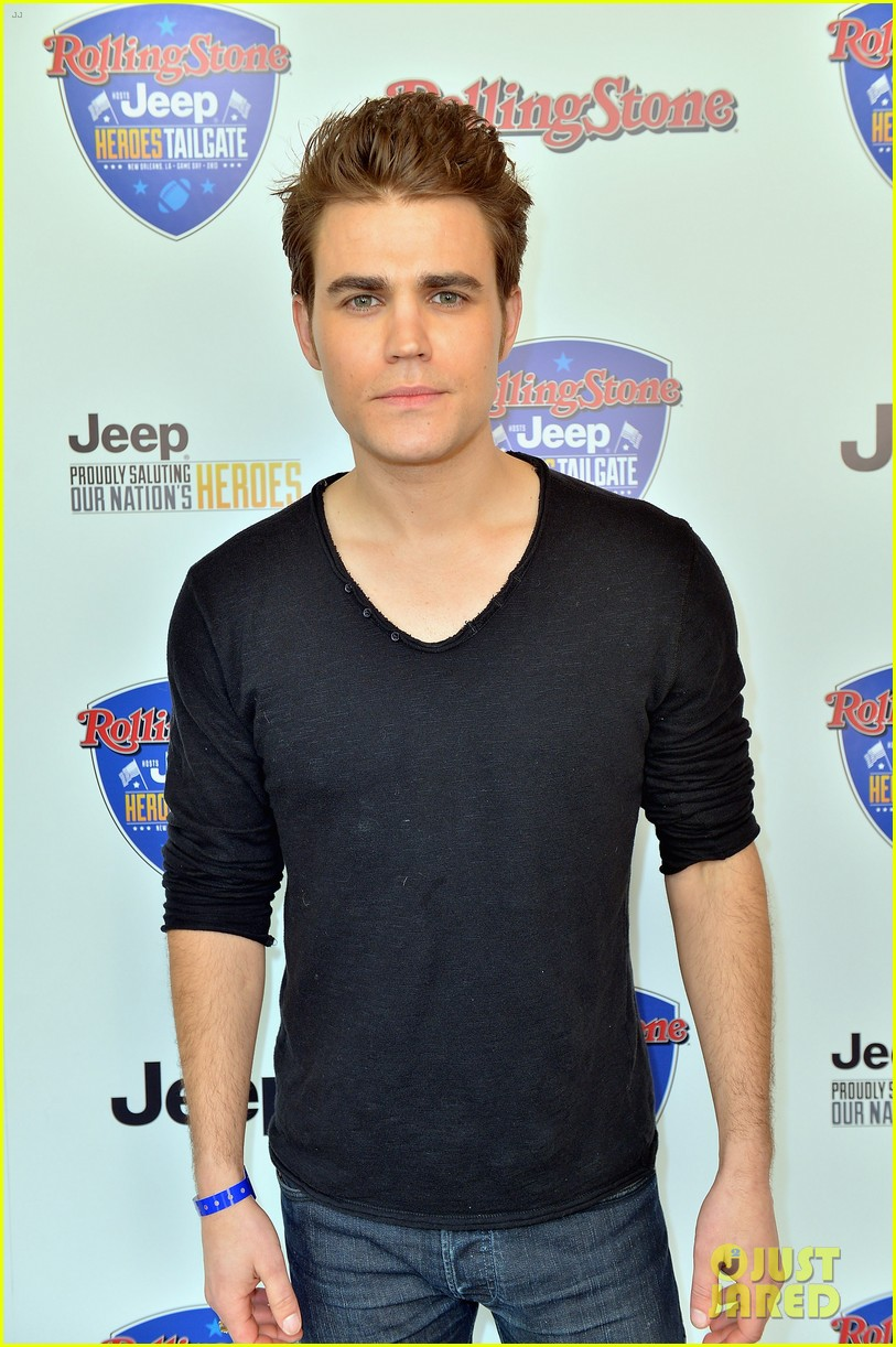 paul wesley torrey devitto super bowl tailgate party 09