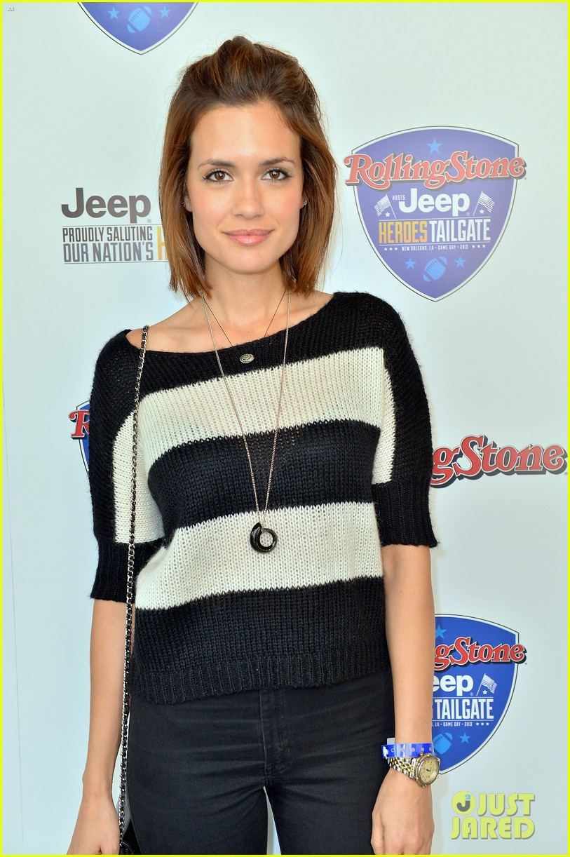 paul wesley torrey devitto super bowl tailgate party 10