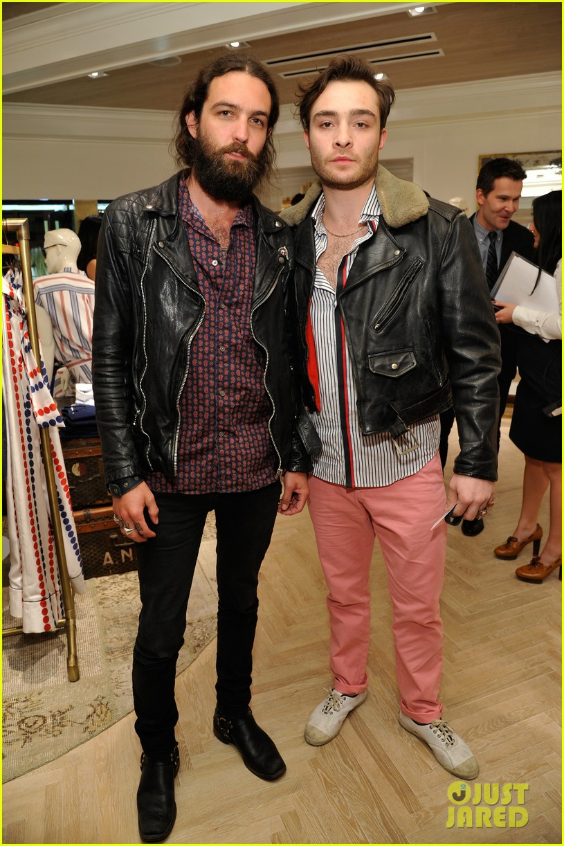 ed westwick neil patrick harris tommy hilfiger store opening 10