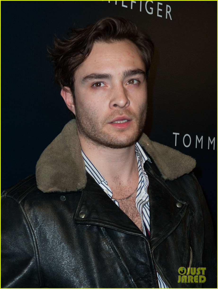ed westwick neil patrick harris tommy hilfiger store opening 17