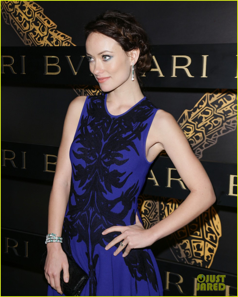 olivia wilde julianne moore bulgari serpenti event 112808481