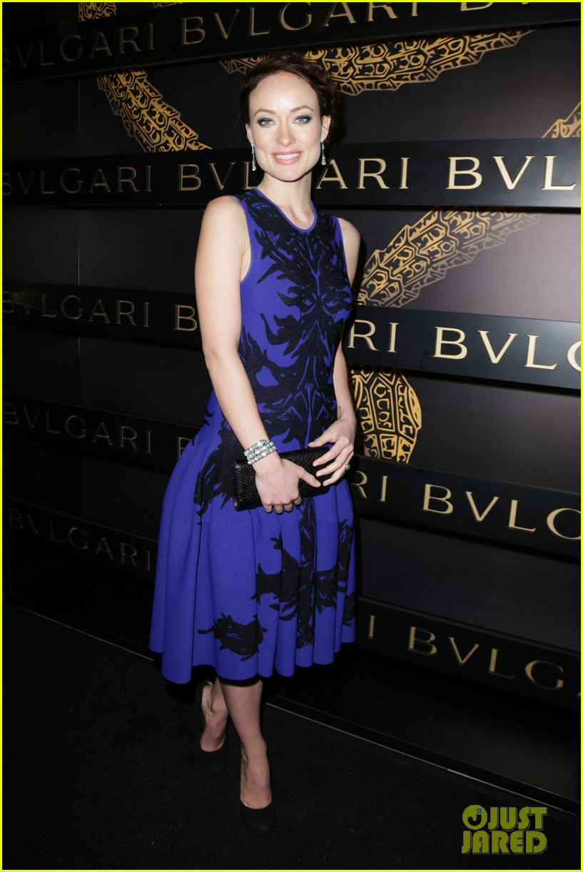 olivia wilde julianne moore bulgari serpenti event 16