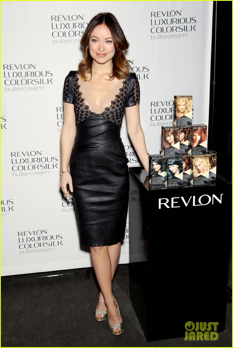 olivia wilde revlon colorsilk buttercreme launch 032806389