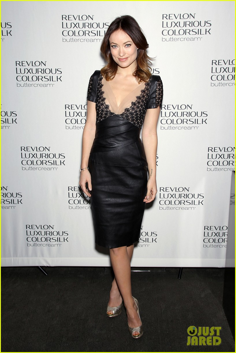 olivia wilde revlon colorsilk buttercreme launch 052806391