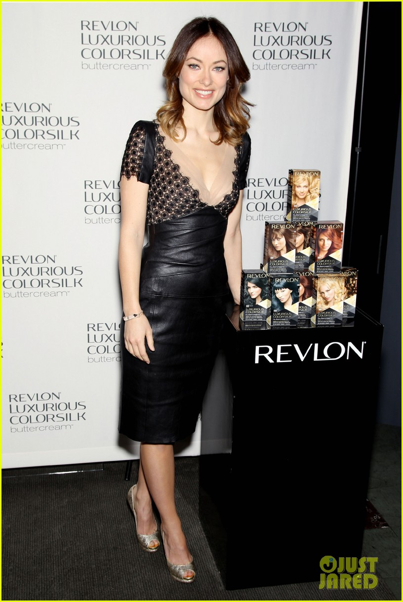 olivia wilde revlon colorsilk buttercreme launch 18