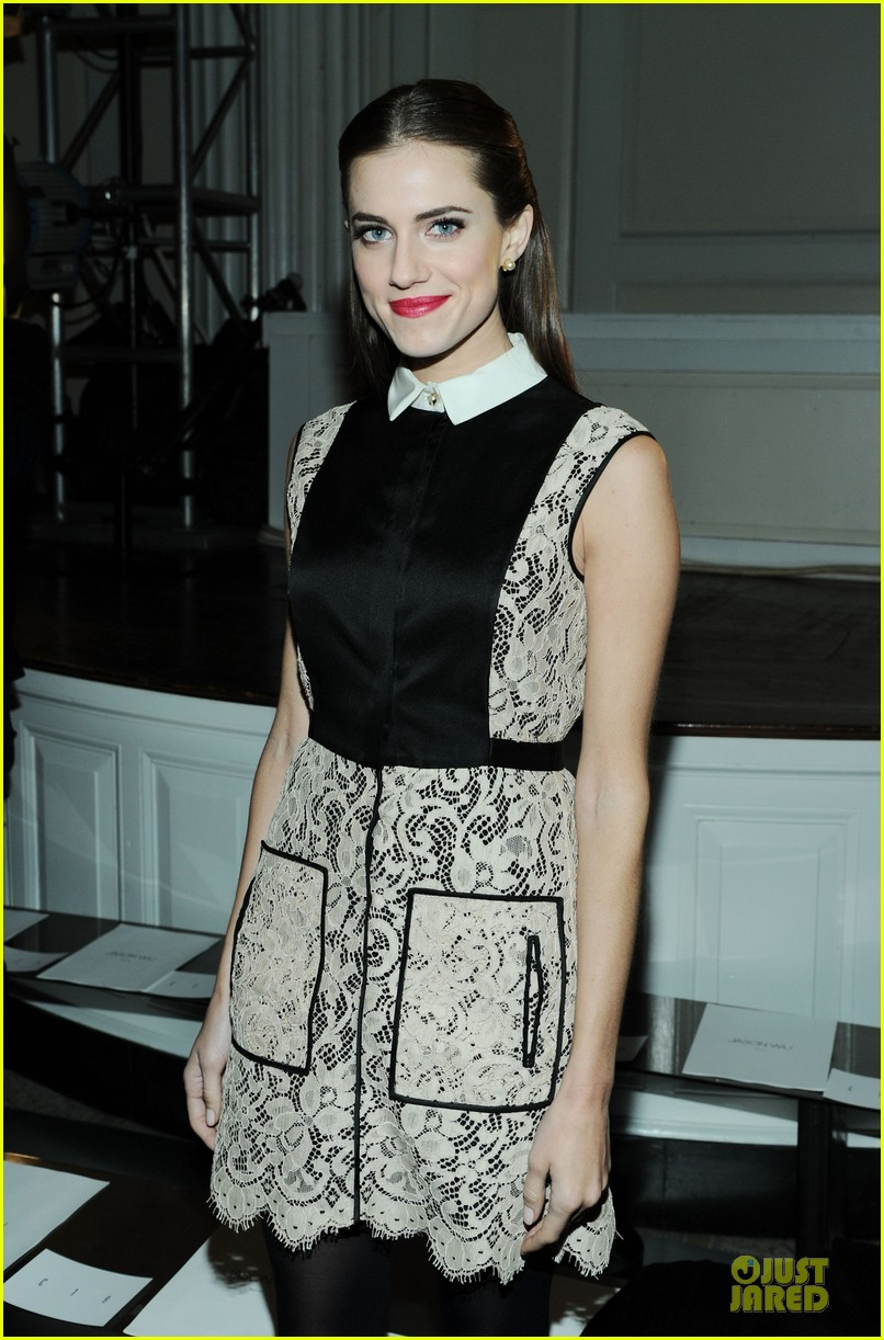 allison williams jason wu fashion show 02
