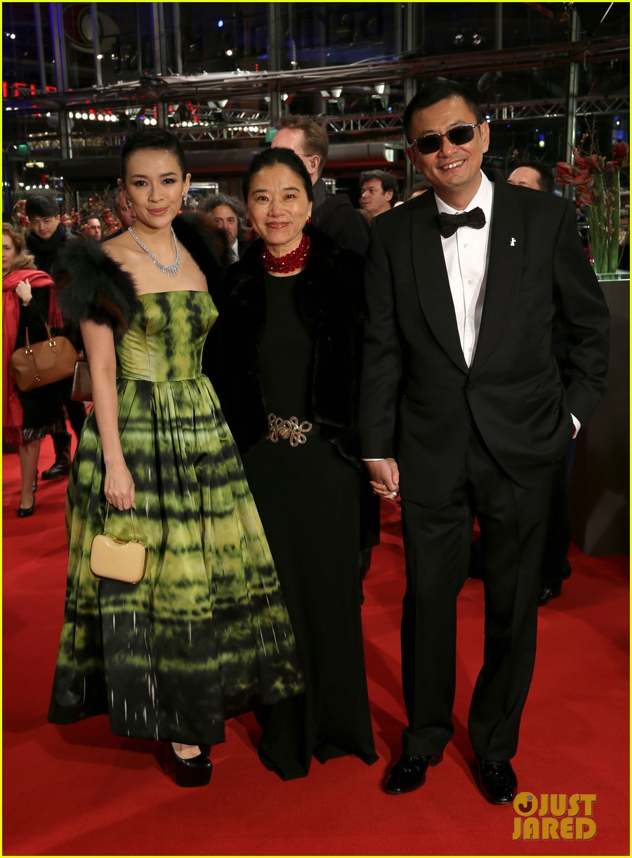 ziyi zhang grandmaster premiere photo call in berlin 172806809