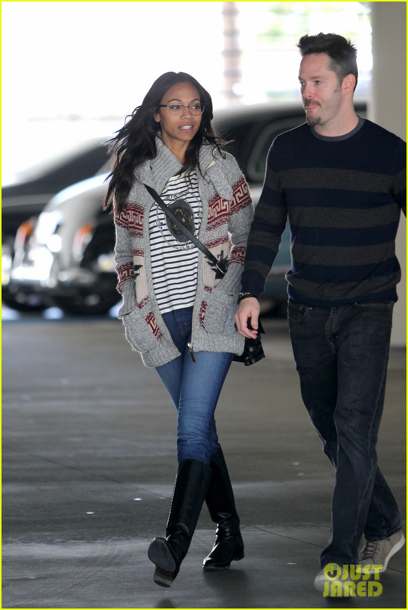 zoe saldana beverly hills beauty 10