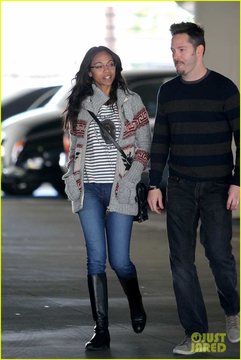 zoe saldana beverly hills beauty 19