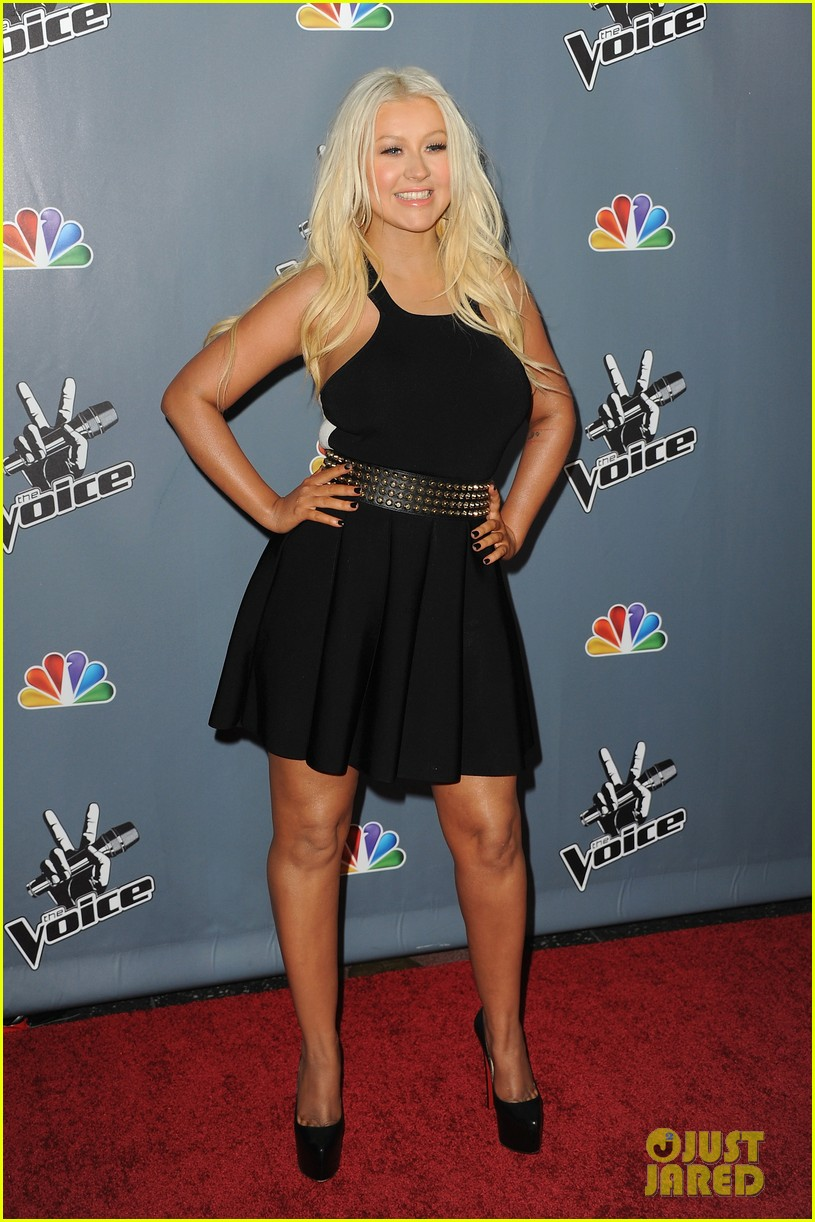 christina aguilera usher the voice season 4 screening 06