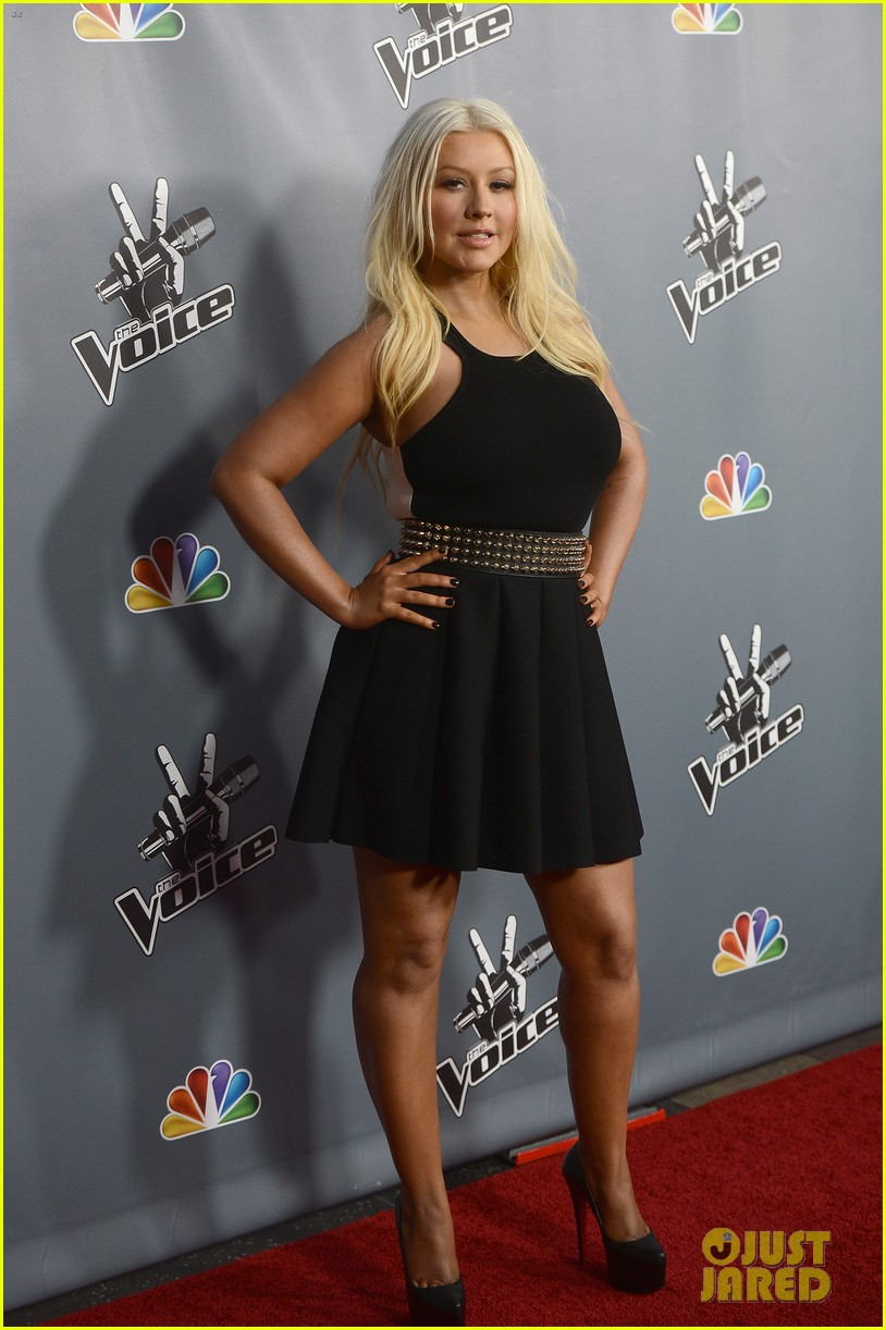 christina aguilera usher the voice season 4 screening 11