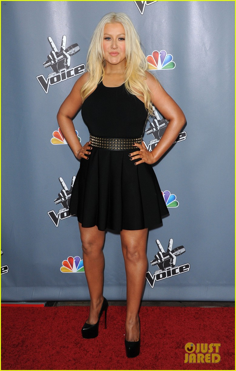 christina aguilera usher the voice season 4 screening 21