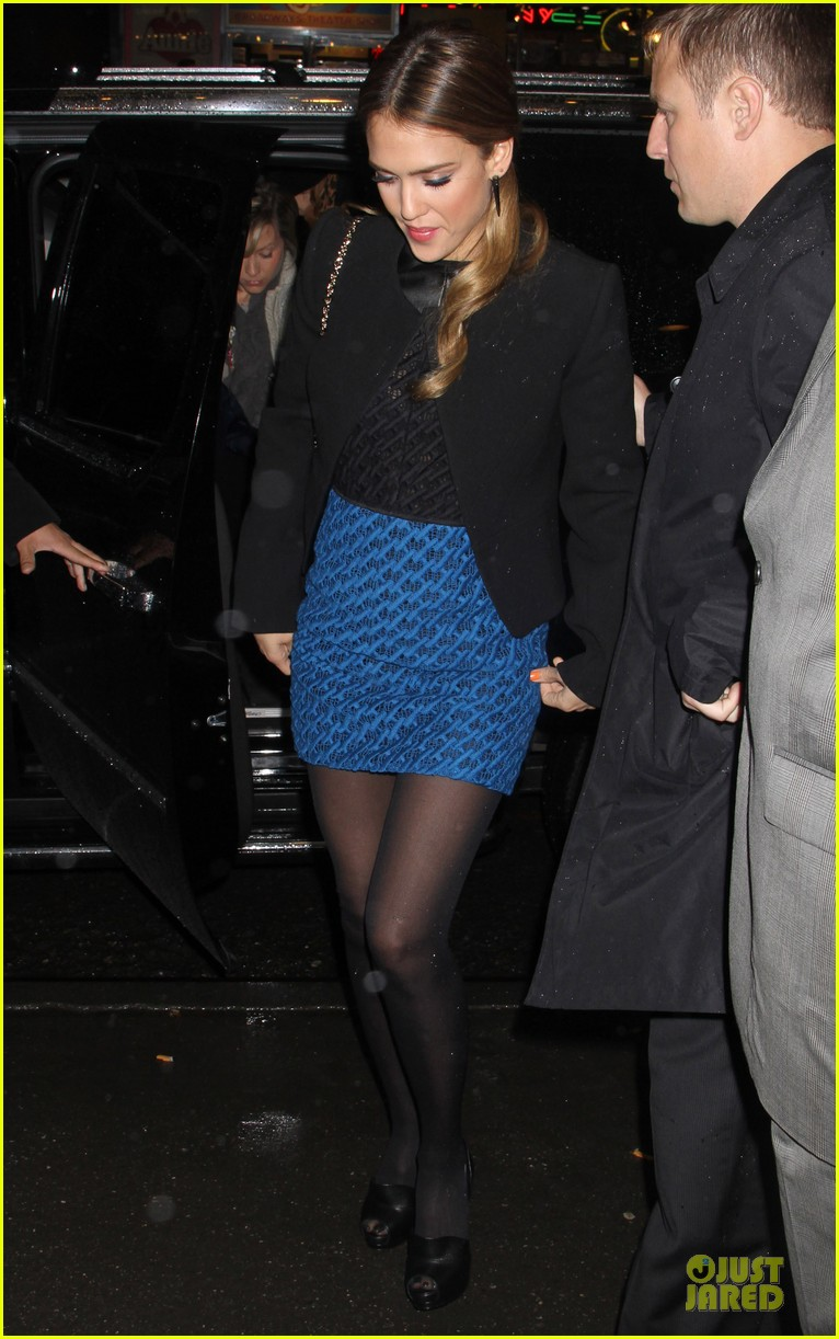 jessica alba honest life book promotion in new york 072829749