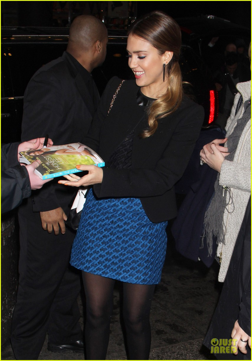 jessica alba honest life book promotion in new york 10