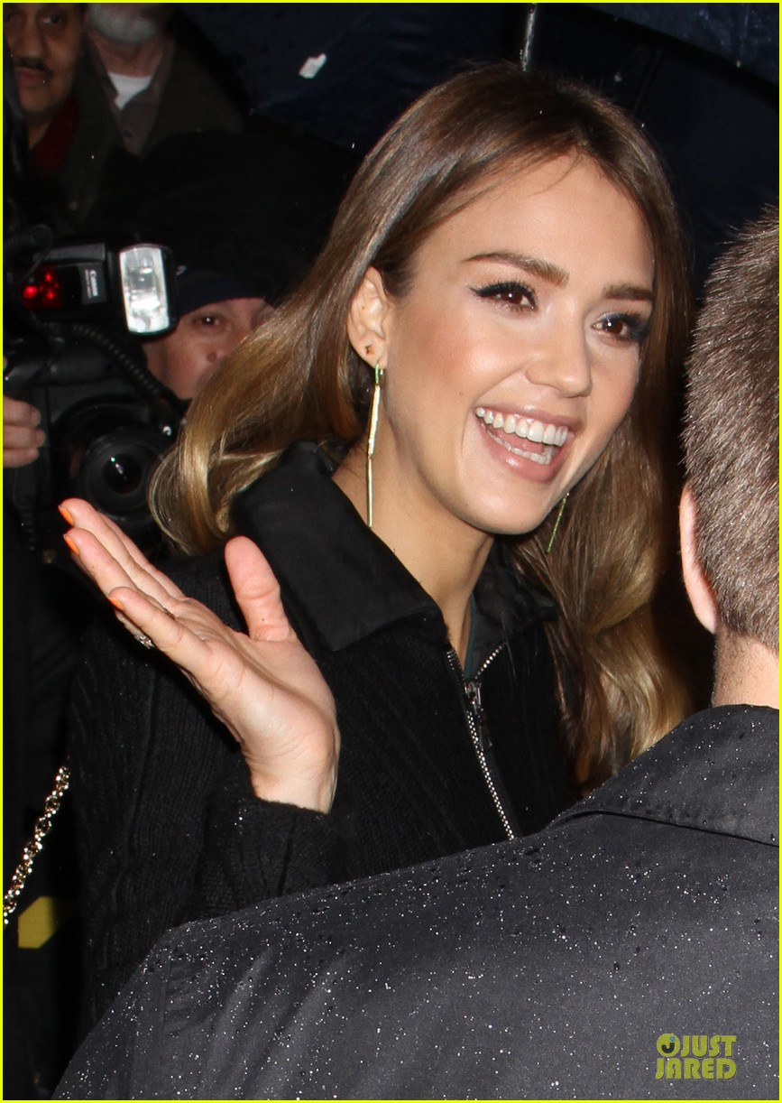 jessica alba honest life book promotion in new york 252829767