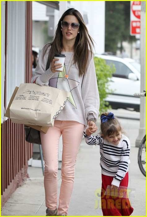 alessandra ambrosio fred segal shopper 152833208