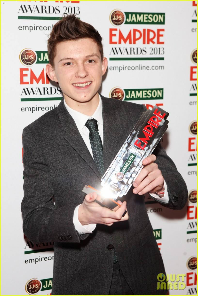 samantha barks tom holland empire awards winners 04