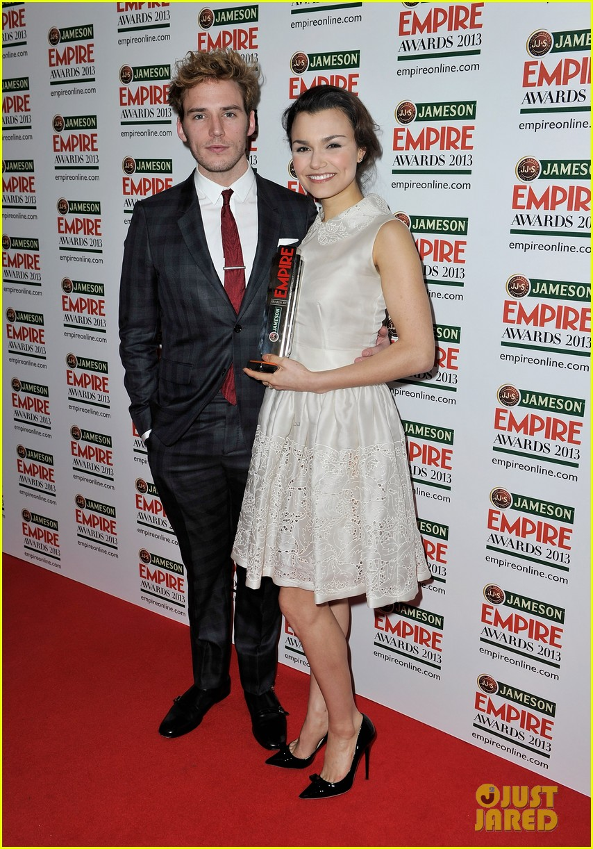 samantha barks tom holland empire awards winners 12