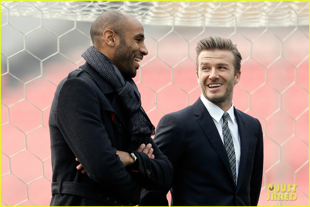 david beckham beijing guoan football club visit 062834935