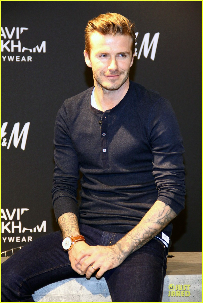 David Beckham hm Bodywear