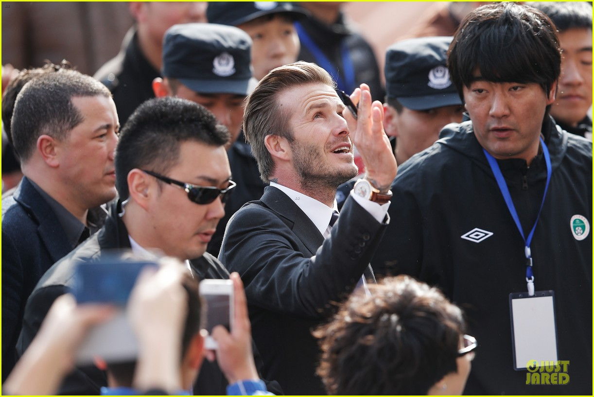 david beckham qingdao jonoon football club 14