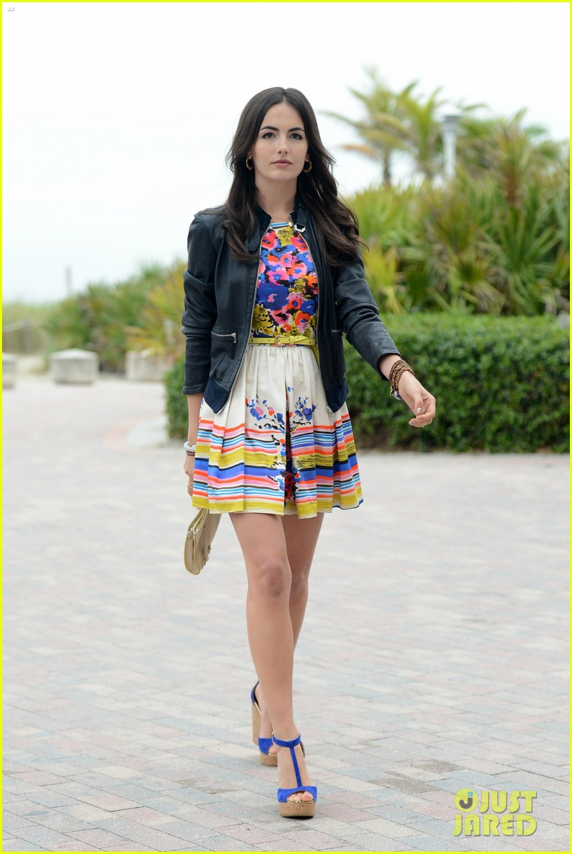 camilla belle cotton 24 hour runway show in miami 11