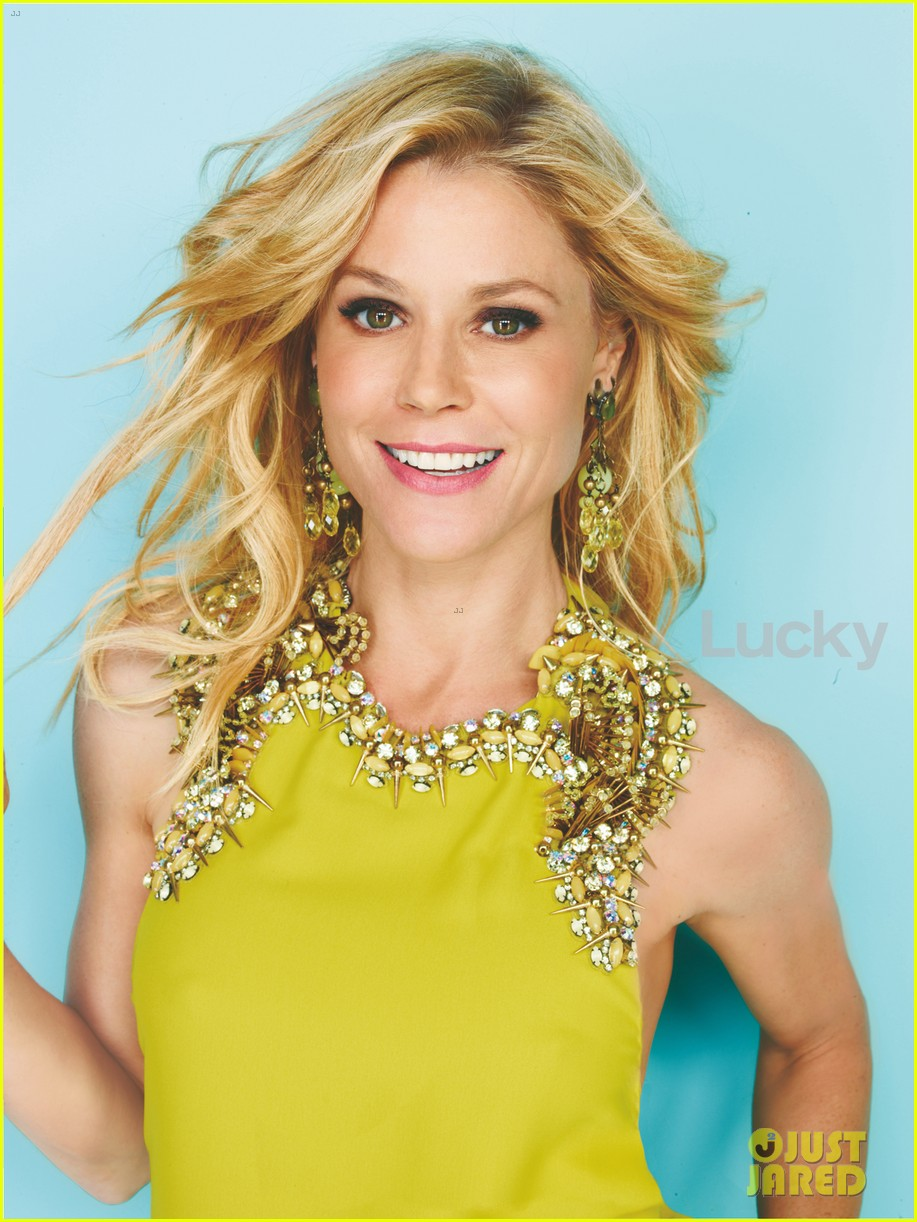 julie bowen covers lucky april 2013 photo 2827235 julie bowen magazine pictures just jared