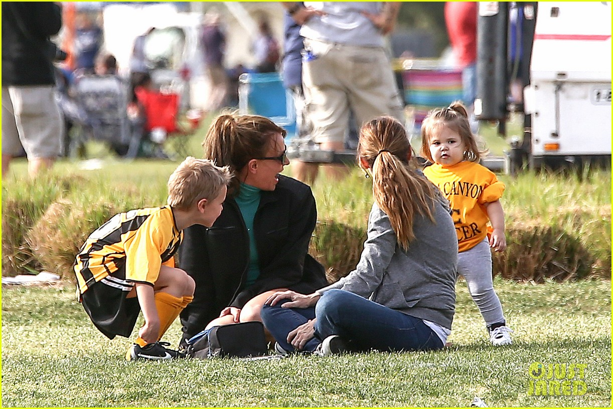 britney spears kevin federline sean preston jayden james soccer games 14