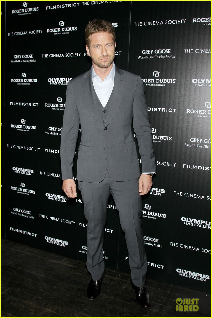 gerard butler olympus has fallen new york screening 03