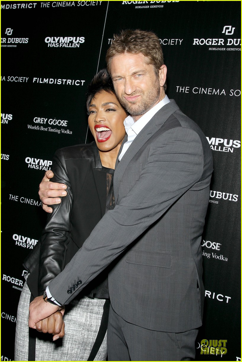 gerard butler olympus has fallen new york screening 26
