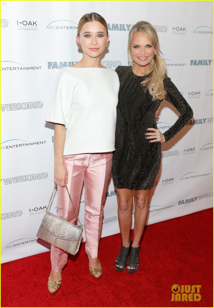 kristin chenoweth oleysa rulin family weekend premiere 012835350
