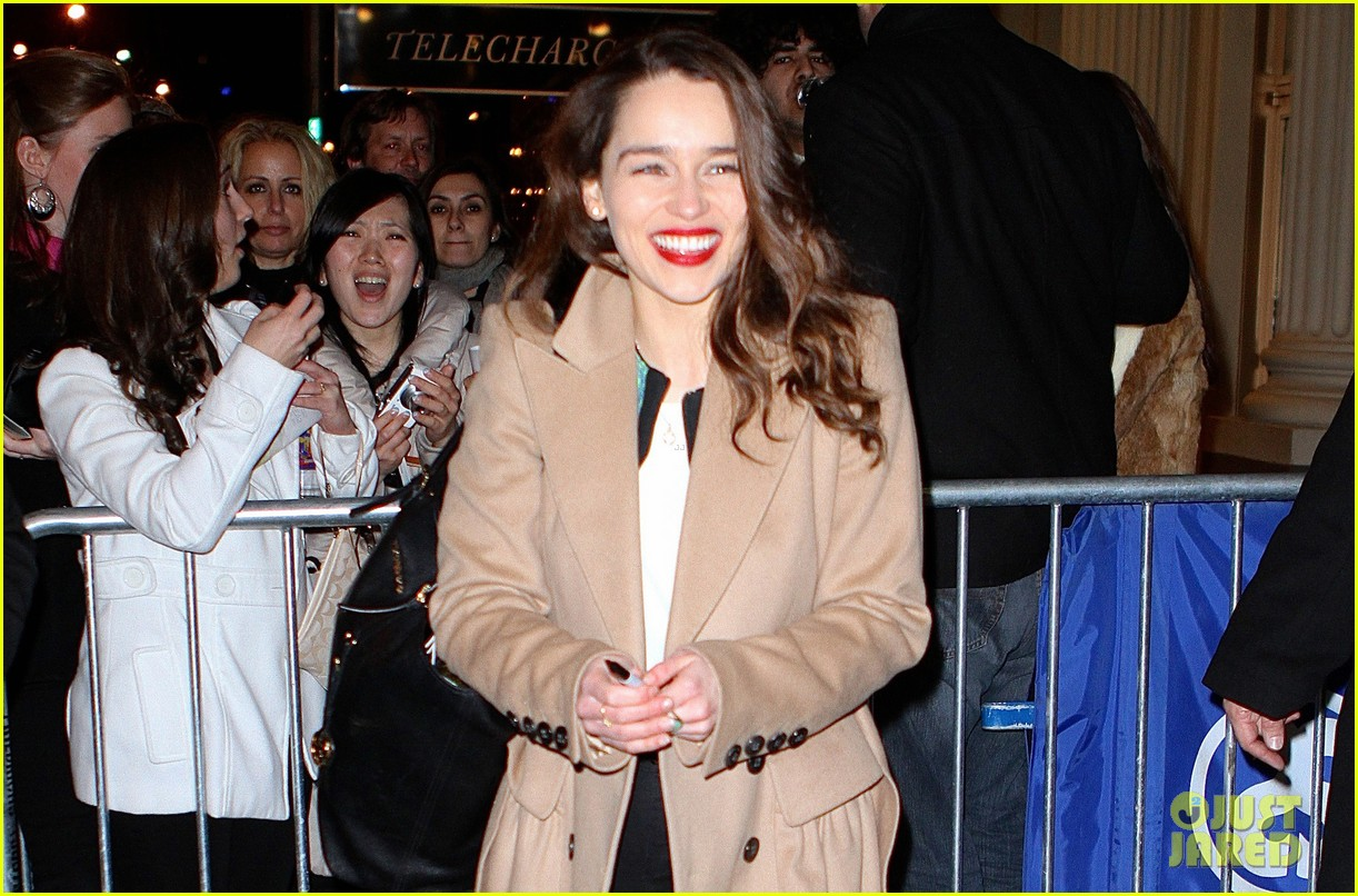 emilia clarke breakfast at tiffanys is joy joy joy 022828339