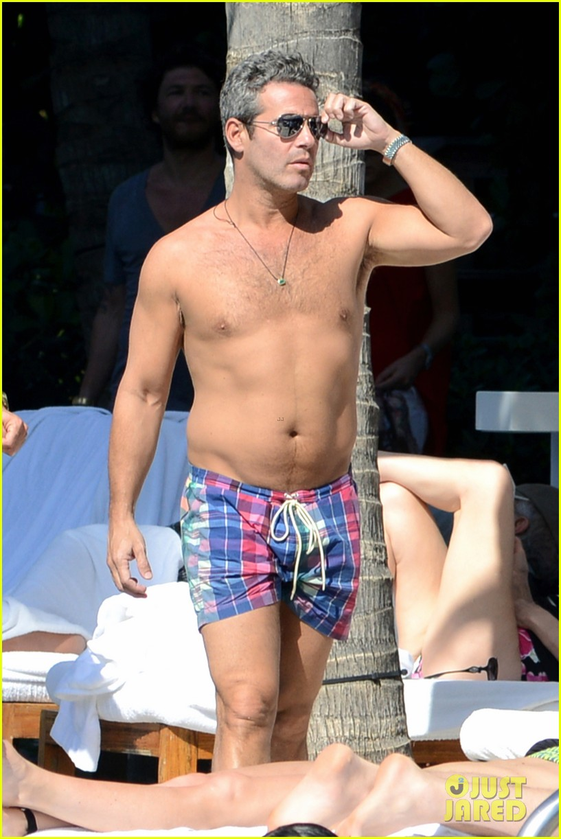 andy cohen sean avery shirtless anniversary 09