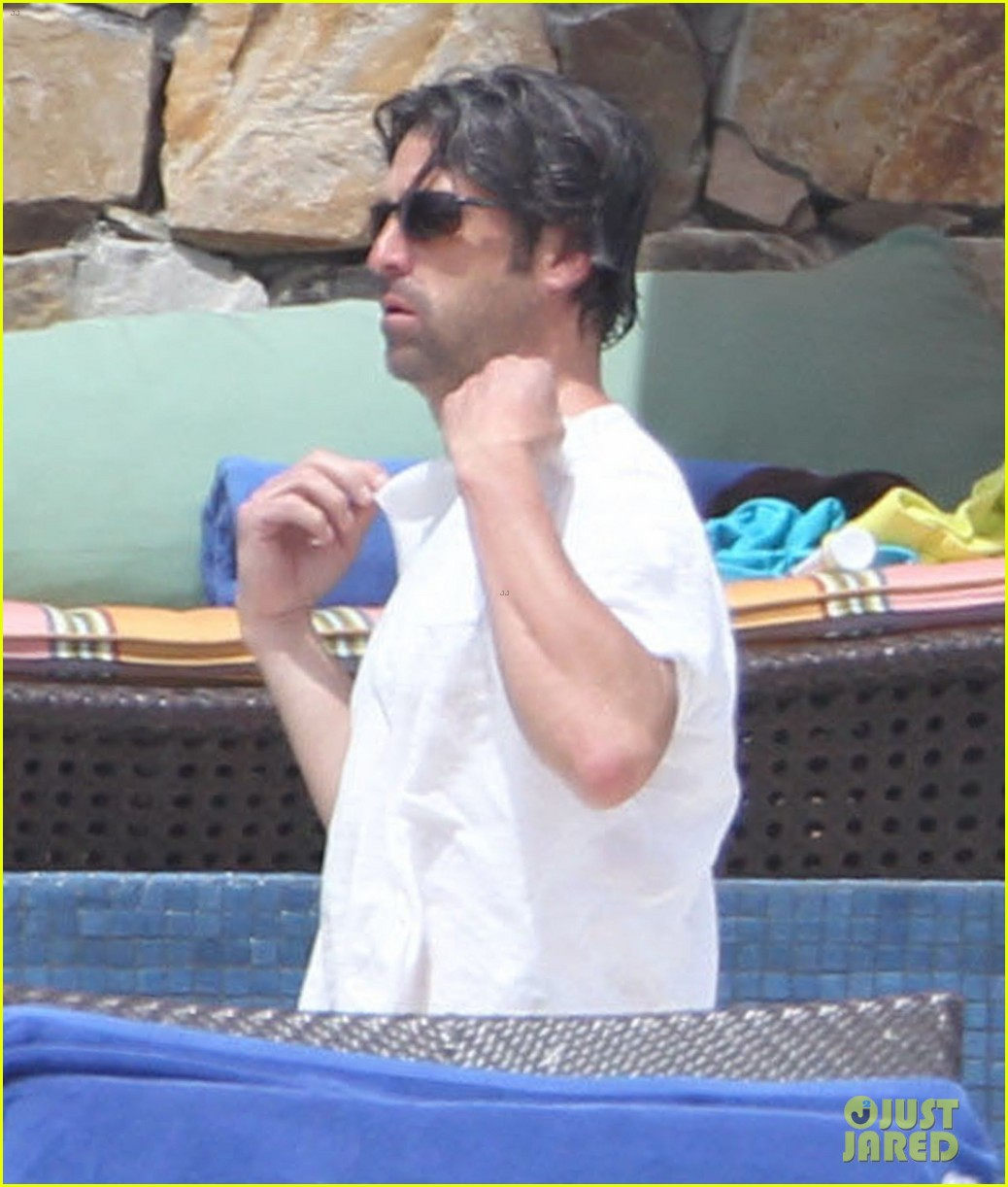 patrick dempsey shirtless family vacation in cabo 162840628