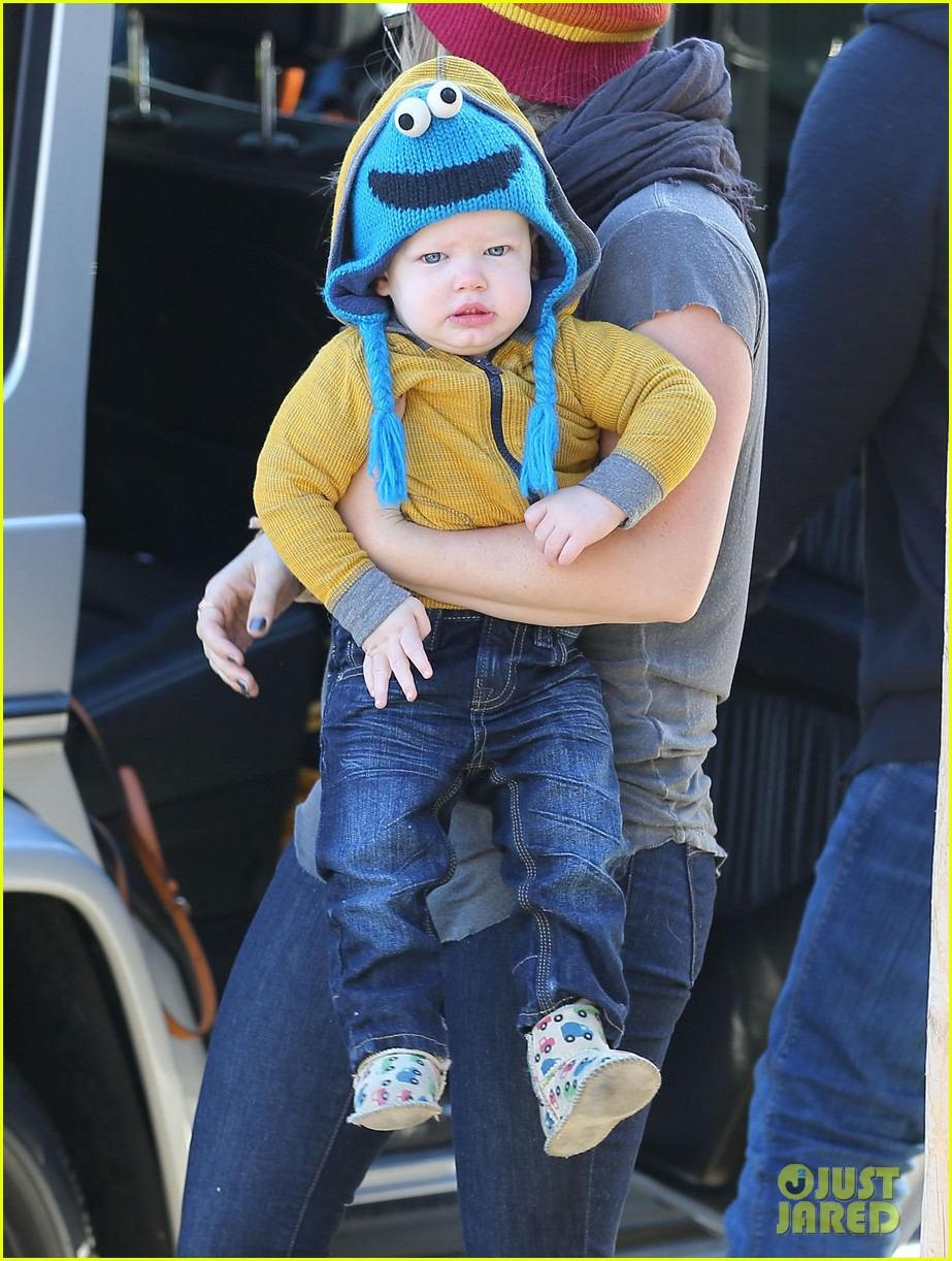 hilary duff family fun weekend with luca 03