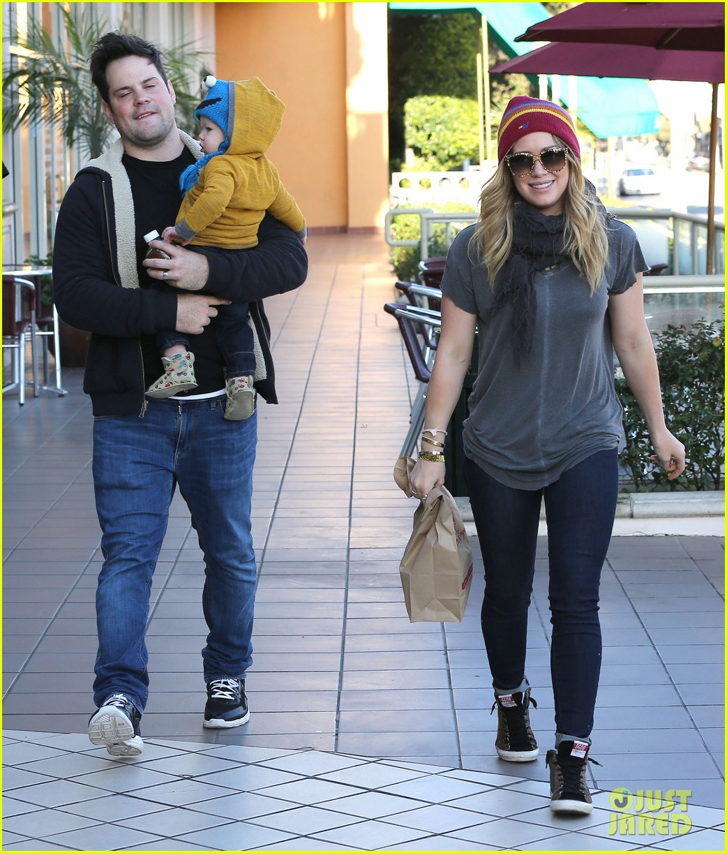 hilary duff family fun weekend with luca 122828949