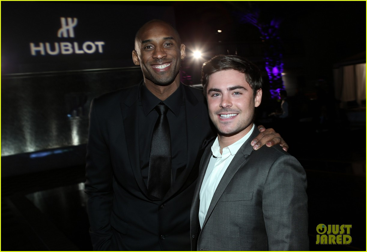 zac efron hublots new brand ambassador celebration 07