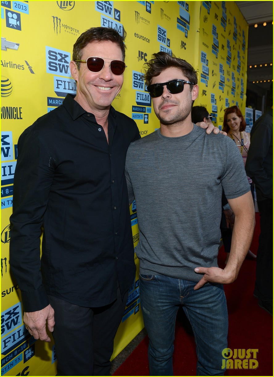 zac efron dennis quaid at any price sxsw premiere 012831786