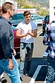 zac efron tight white t on townies set 04