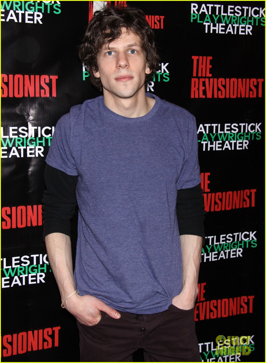 jesse eisenberg the revisionist opening night 14