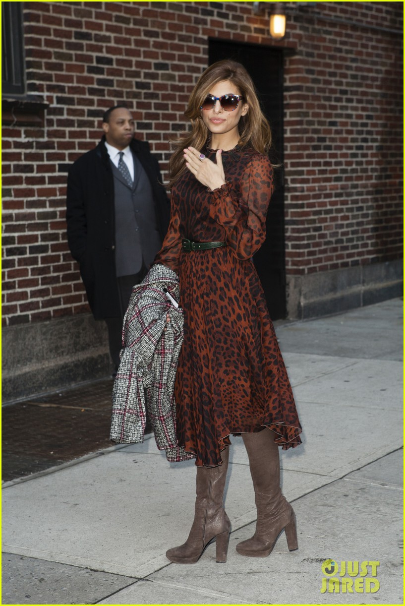 eva mendes late show appearance 072834408