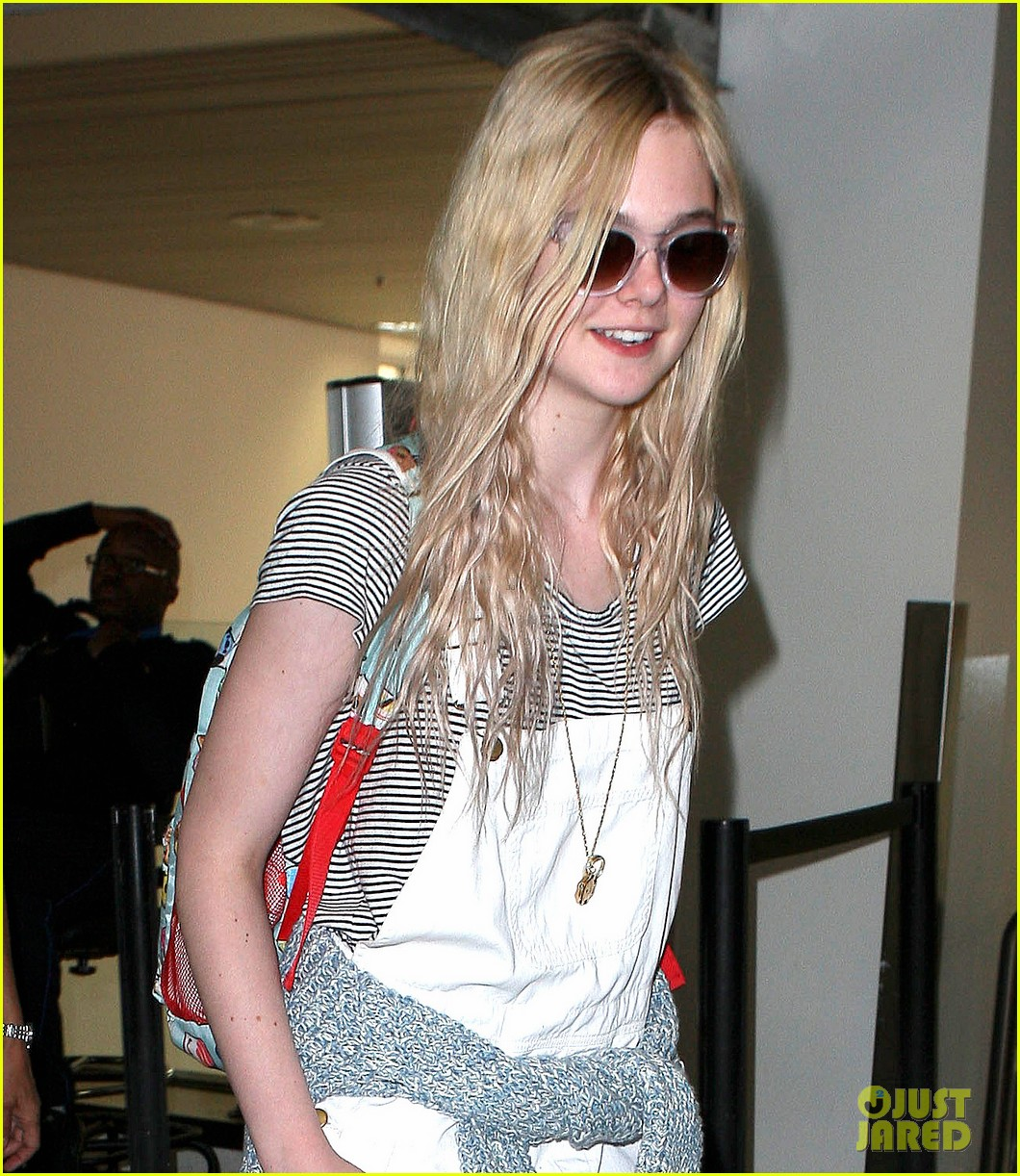 elle fanning jimmy kimmel live on wednesday 10