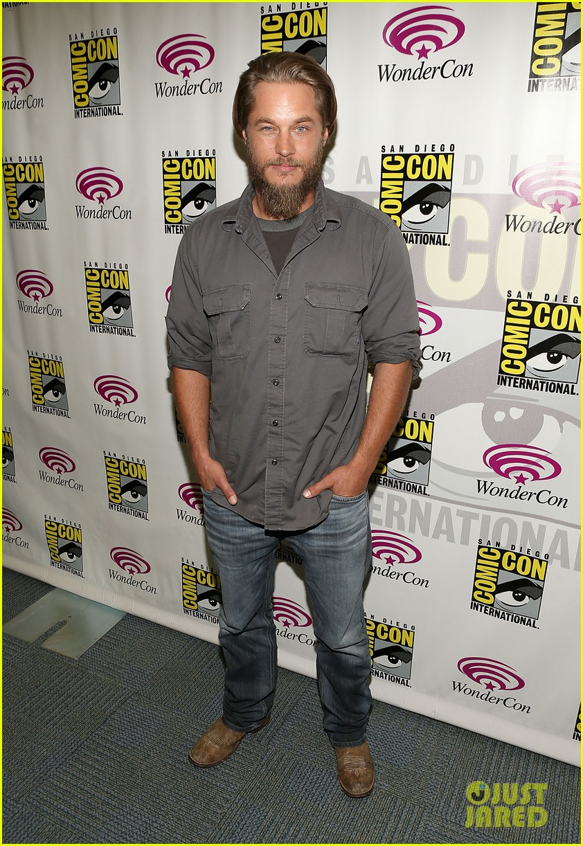travis fimmel from calvin klein model to vikings star 132840661