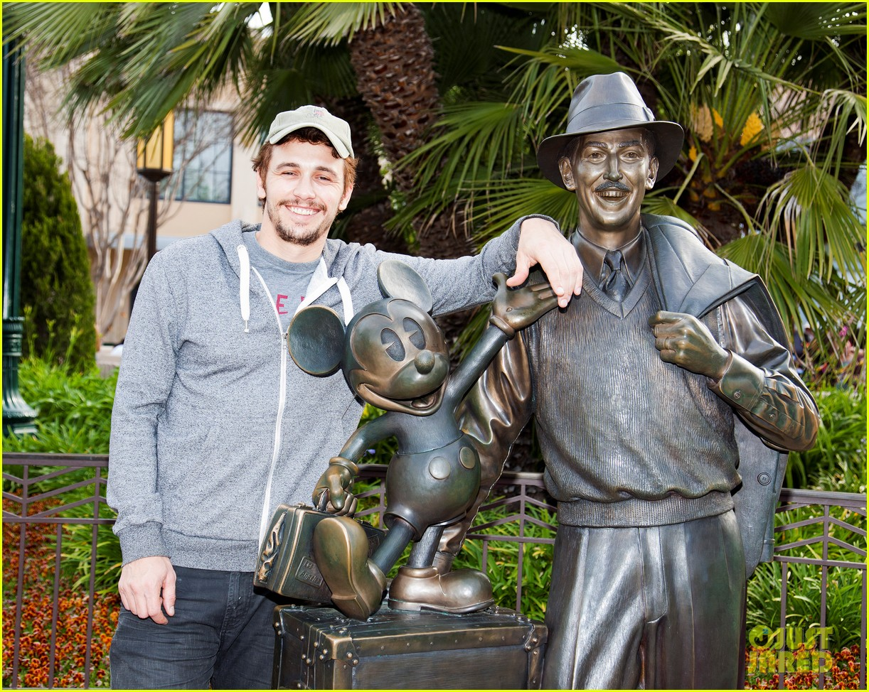 james franco visits disney after releasing new book 042839360