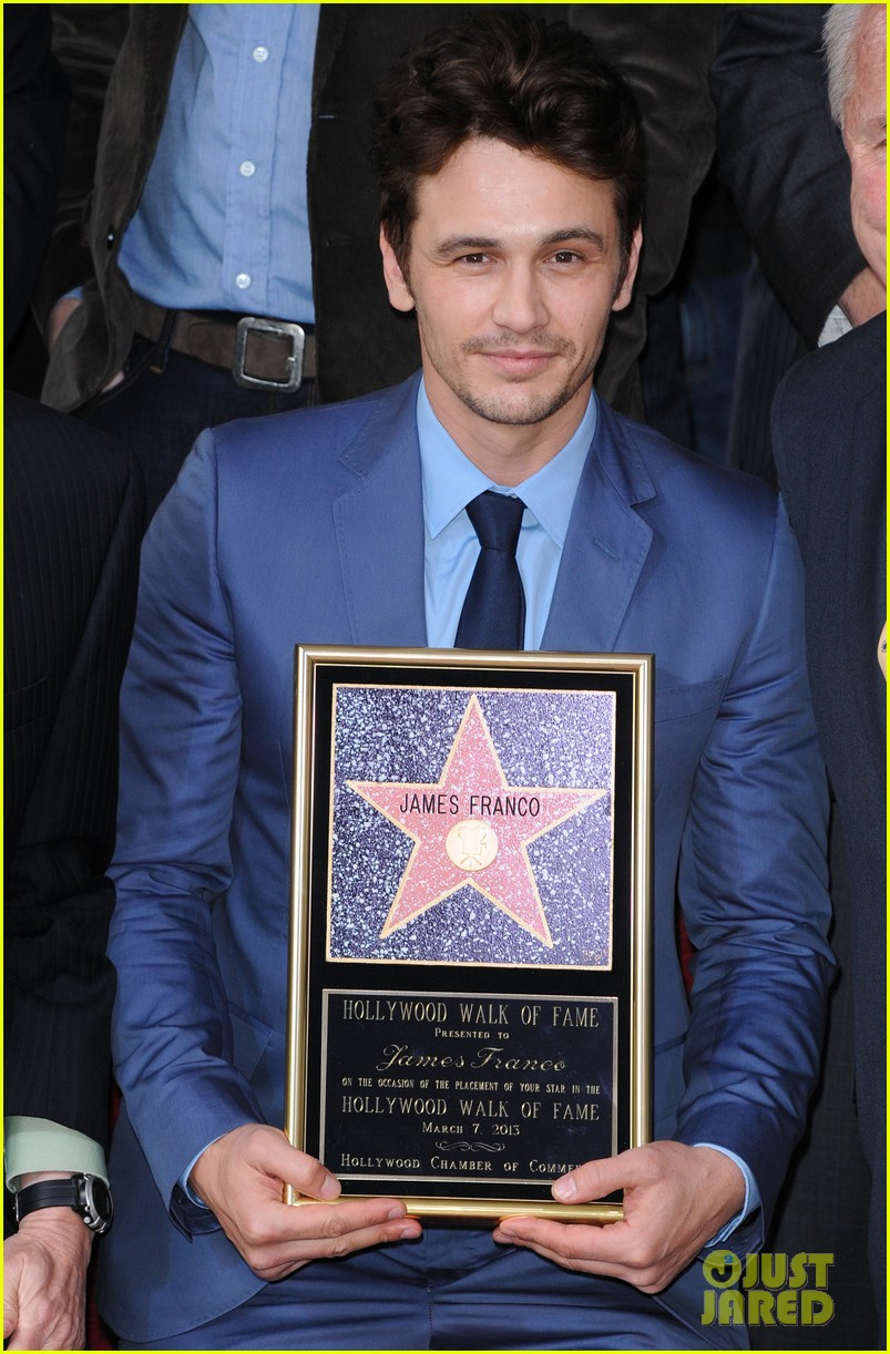 james franco hollywood walk of fame star ceremony 02