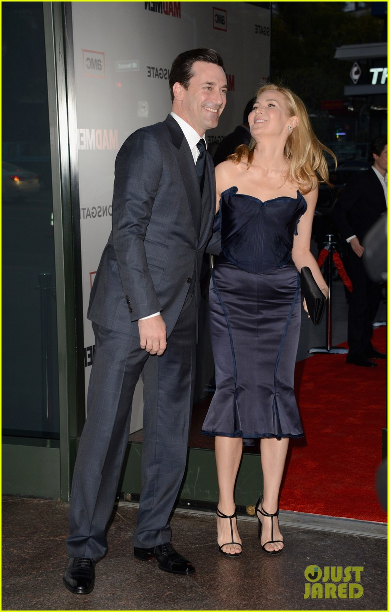 jon hamm vincent kartheiser mad men season 6 premiere 16